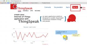 Thingspeak - Step 1 - Highlighted
